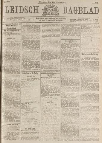 Leidsch Dagblad 1916-02-10