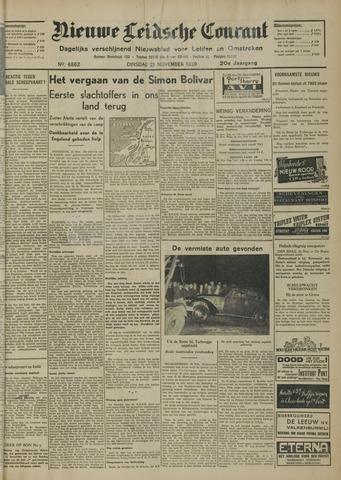 Nieuwe Leidsche Courant 1939-11-21