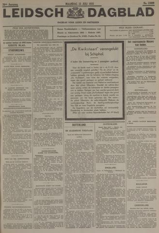 Leidsch Dagblad 1935-07-15