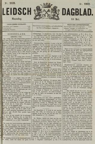 Leidsch Dagblad 1869-05-10