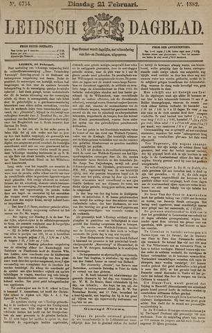 Leidsch Dagblad 1882-02-21