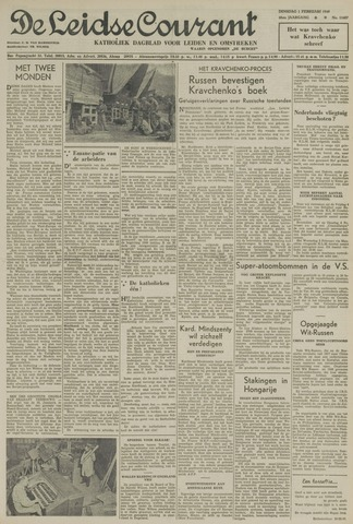Leidse Courant 1949-02-01