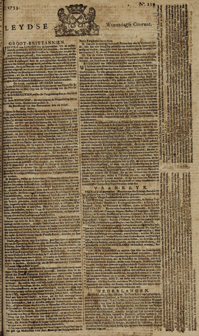 Leydse Courant 1753-10-03