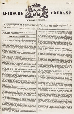 Leydse Courant 1877-02-21