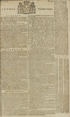Leydse Courant 1771-11-15