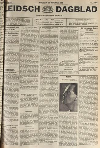 Leidsch Dagblad 1932-11-16