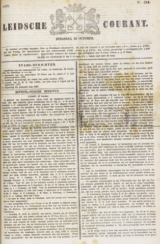 Leydse Courant 1879-10-28