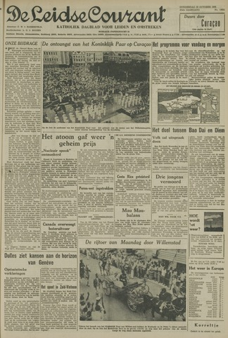 Leidse Courant 1955-10-20