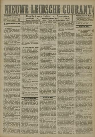 Nieuwe Leidsche Courant 1923-04-13