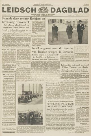Leidsch Dagblad 1956-10-15
