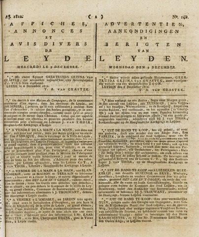 Leydse Courant 1812-12-09