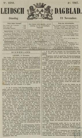 Leidsch Dagblad 1867-11-12
