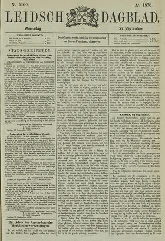 Leidsch Dagblad 1876-09-27