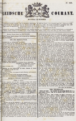 Leydse Courant 1871-10-23