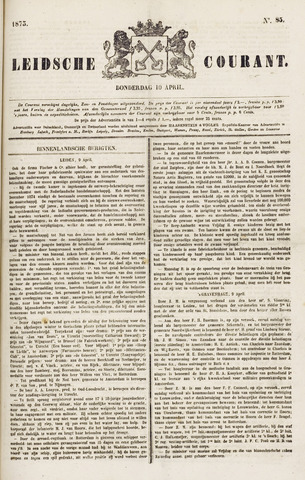 Leydse Courant 1873-04-10