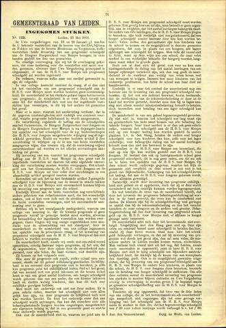 Handelingen van de Raad 1911-05-23