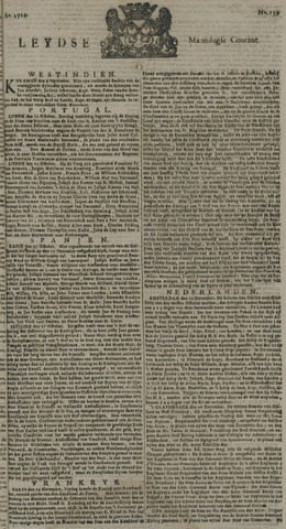 Leydse Courant 1729-11-21