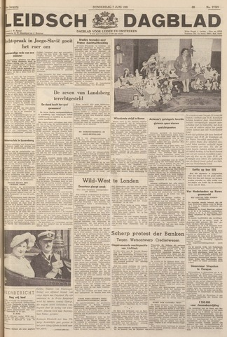 Leidsch Dagblad 1951-06-07