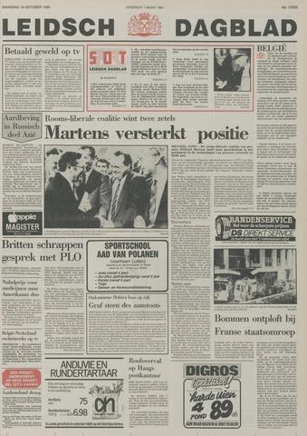 Leidsch Dagblad 1985-10-14
