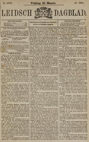 Leidsch Dagblad 1882-03-31