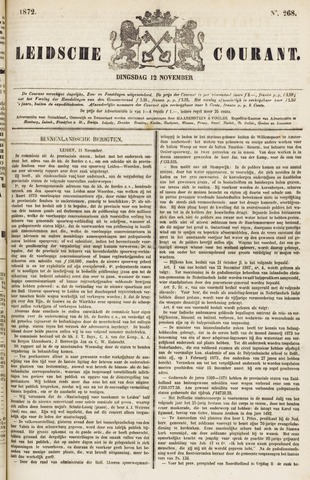 Leydse Courant 1872-11-12