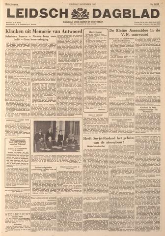Leidsch Dagblad 1947-11-07