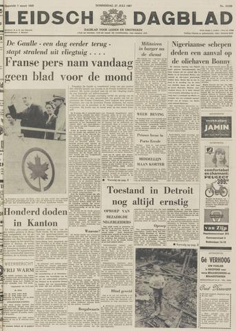 Leidsch Dagblad 1967-07-27