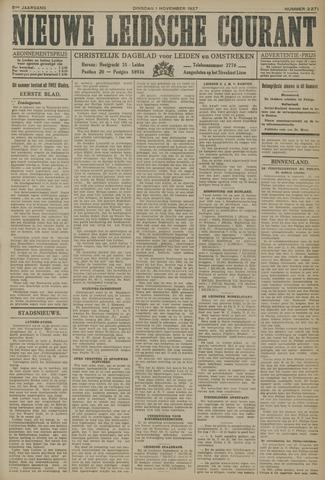 Nieuwe Leidsche Courant 1927-11-01