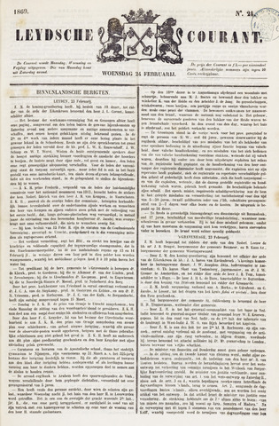 Leydse Courant 1869-02-24