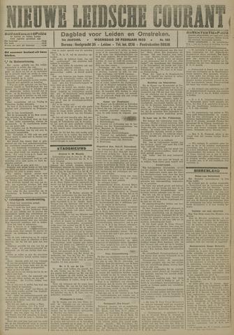 Nieuwe Leidsche Courant 1923-02-28