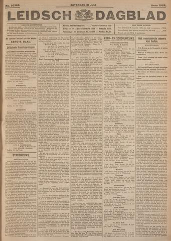 Leidsch Dagblad 1926-07-31