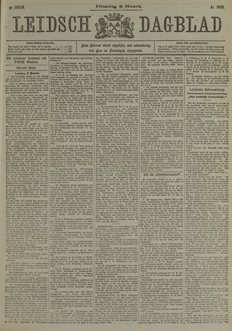 Leidsch Dagblad 1909-03-02