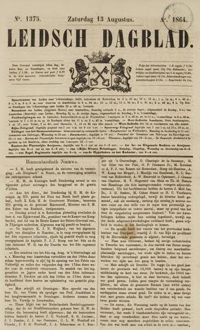 Leidsch Dagblad 1864-08-13
