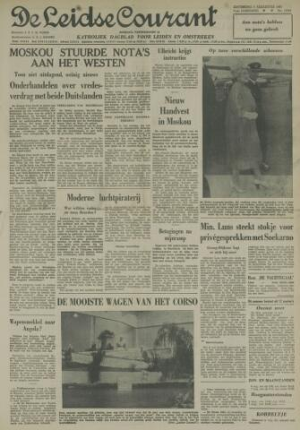 Leidse Courant 1961-08-05