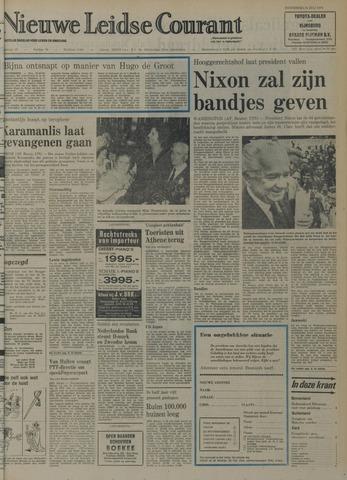 Nieuwe Leidsche Courant 1974-07-25