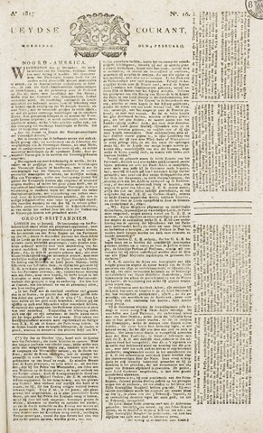 Leydse Courant 1817-02-05