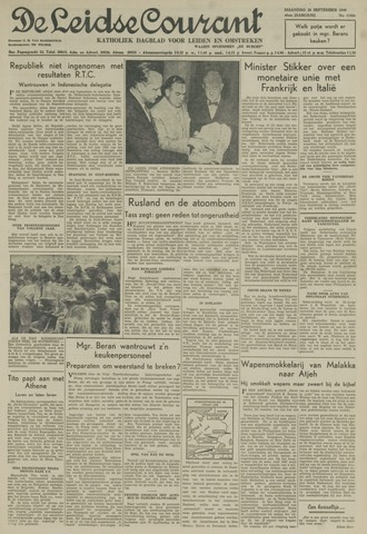 Leidse Courant 1949-09-26