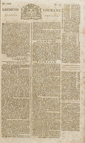 Leydse Courant 1826-06-16