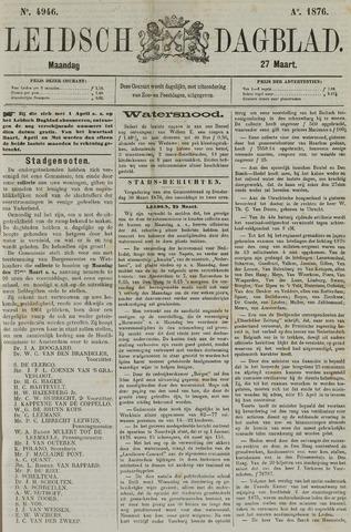 Leidsch Dagblad 1876-03-27