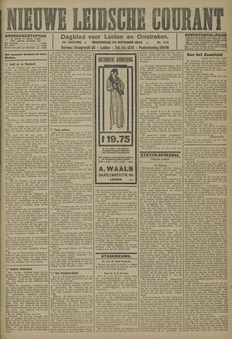 Nieuwe Leidsche Courant 1923-10-24