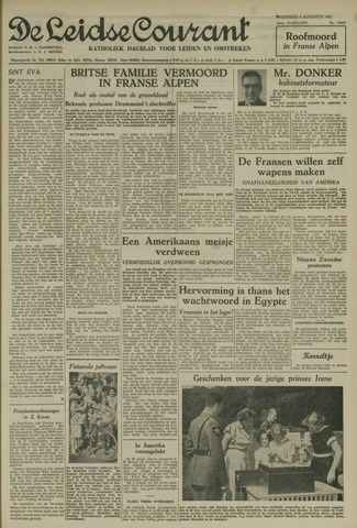Leidse Courant 1952-08-06