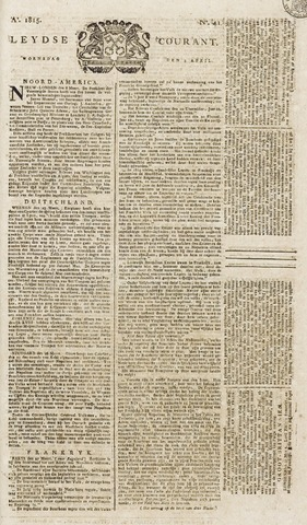 Leydse Courant 1815-04-05