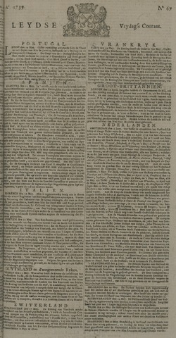 Leydse Courant 1739-06-05