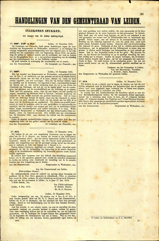 Handelingen van de Raad 1873-12-15