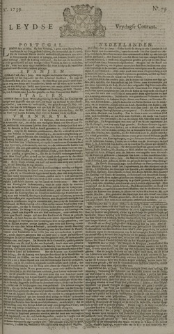Leydse Courant 1739-07-03