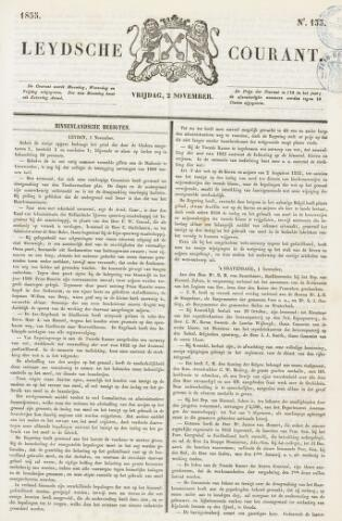 Leydse Courant 1855-11-02