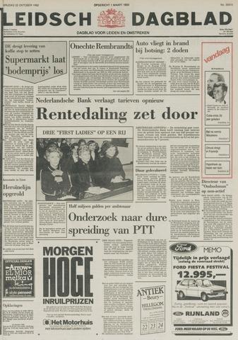 Leidsch Dagblad 1982-10-22