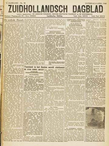 Zuidhollandsch Dagblad 1944-04-08