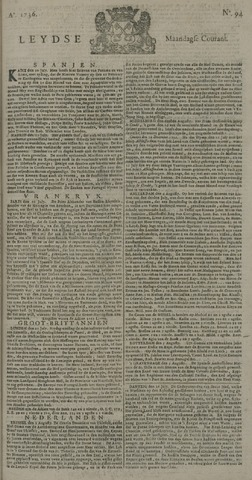 Leydse Courant 1736-08-06