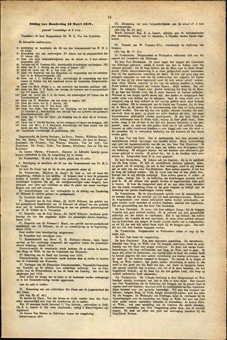 Handelingen van de Raad 1879-03-13
